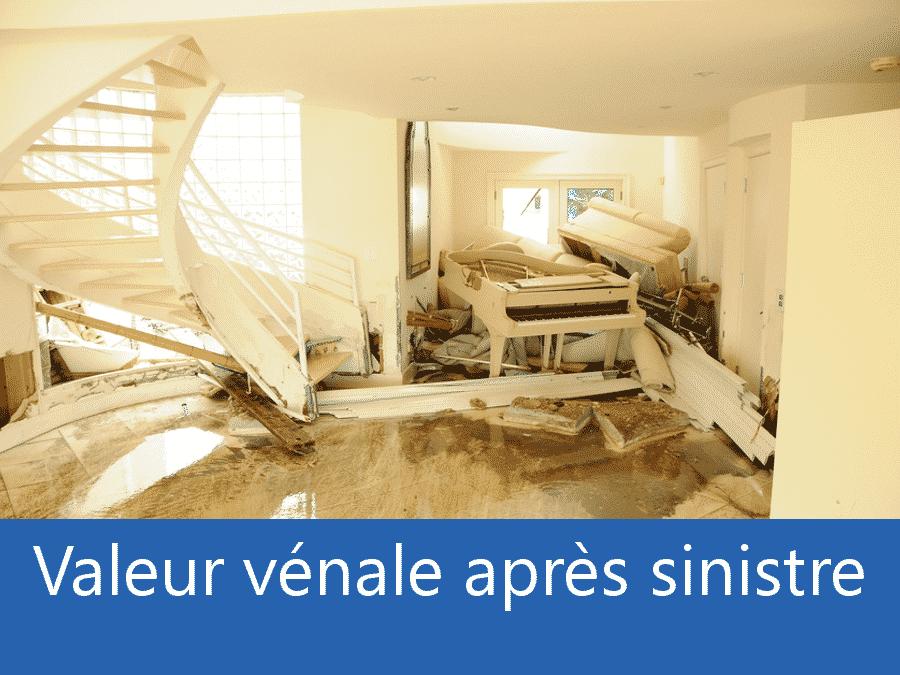 valeur vénale après sinistre 33, valeur dégâts après sinistre Bordeaux, avis valeur sinistre Gironde,